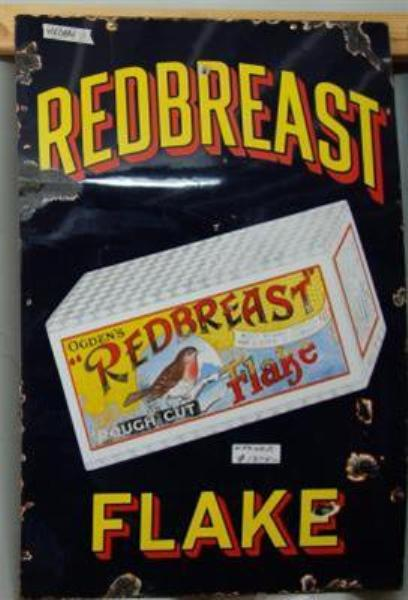 Redbreast Flake Enamel Sign---ST26