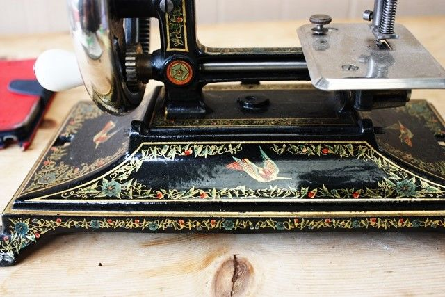 ARRIVING NOV Antique Cast Iron Sewing Machine