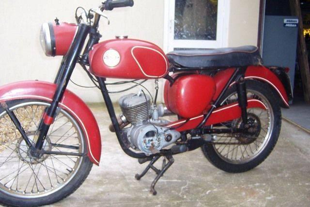 ARRIVING SOON 1956 BSA D1 125cc