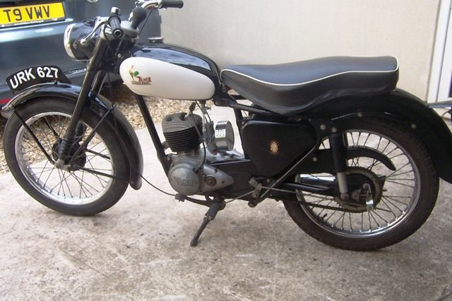 ARRIVING SOON 1958 BSA D5