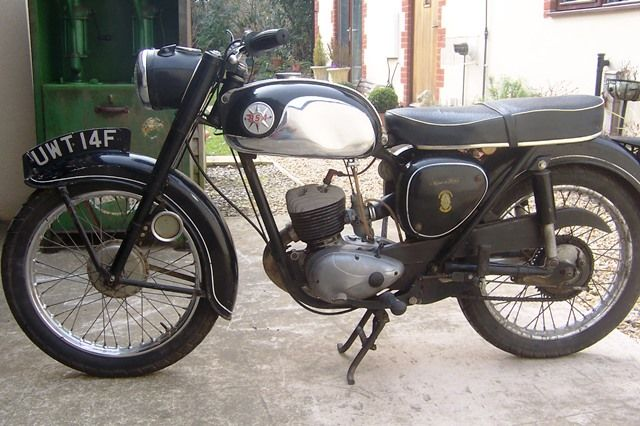 ARRIVING SOON 1968 BSA D13