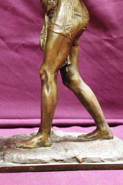 A Fine French Semi Nude Bronze Figure By Alfred Jean Foretay C1900