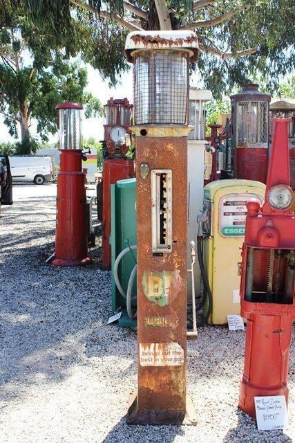 A GandB Manual Petrol Pump In Original BP Livery