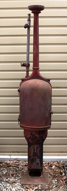 A Gilbert and Barker T8 Manual Petrol Pump For Restoration
