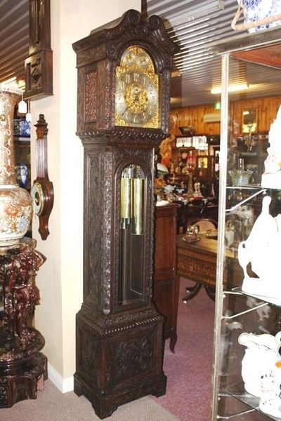 A Spectacular Late Victorian Long Case Clock