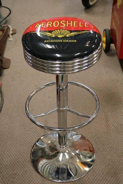 Adjustable GarageBar Stool Aeroshell