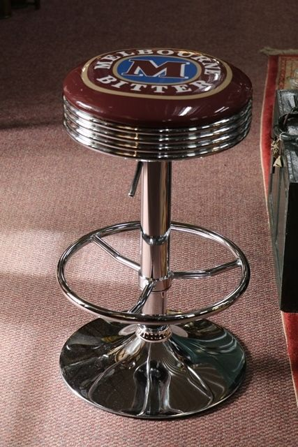 Adjustable GarageBar Stool Melbourne Bitter