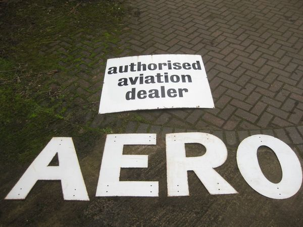 Aero Letters Enamel