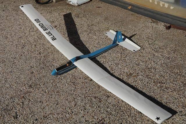 Airplane Model Blue Bird  110