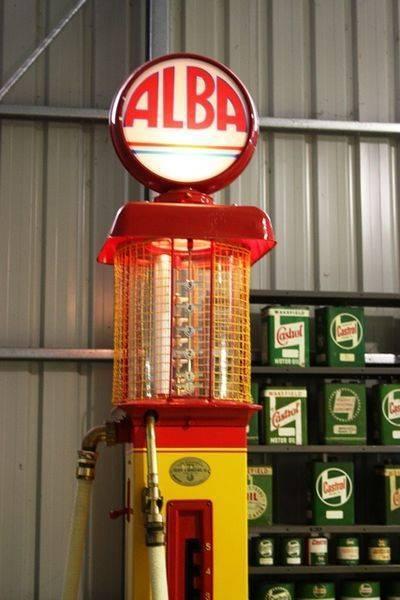 Alba Gilbert + Barker Manual Petrol Pump