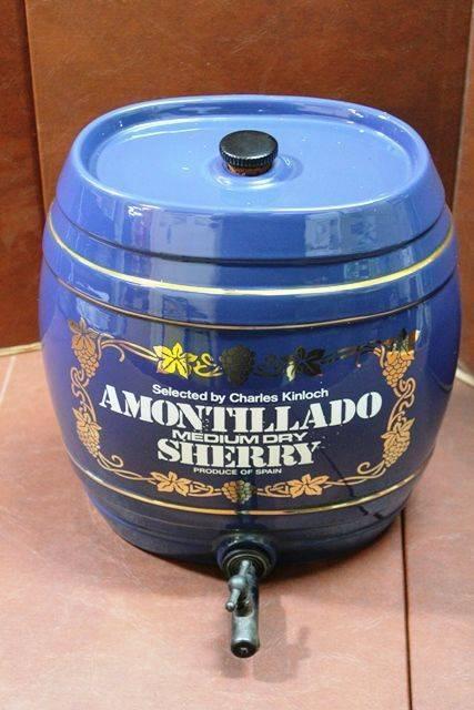 Amontillado Sherry Porcelain Dispenser
