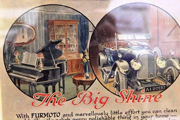 Antique Australian Furmoto Polish Advertising Card