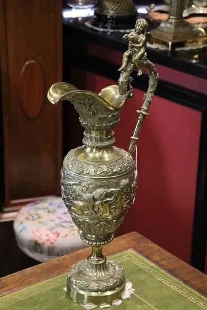 Antique Bronze 3 Piece Garniture C1850