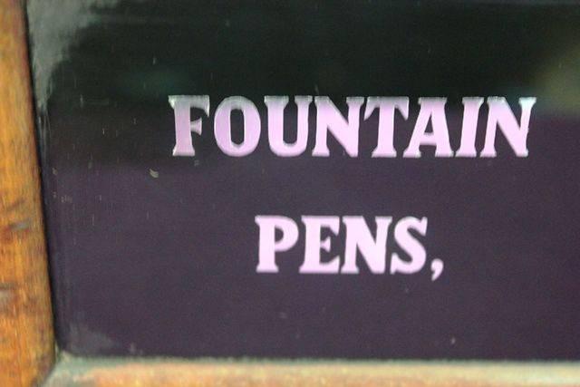 Antique Conway Stewart  Fountain Pen Cabinet