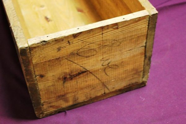 Antique Coopers Dipping Powder Packing Box