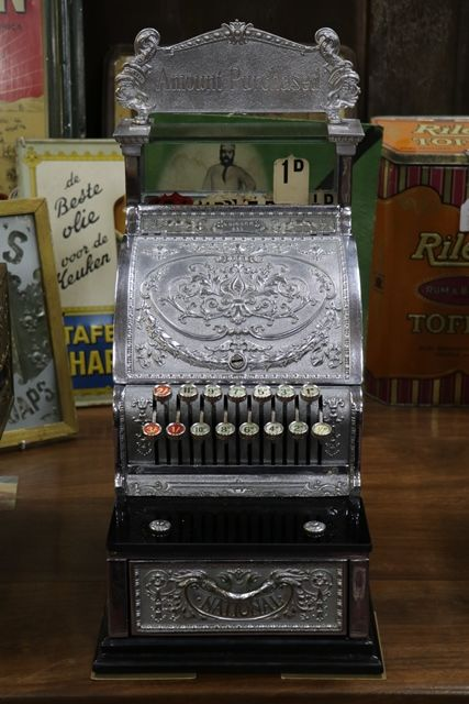 Antique National Cash Register Candy Store Model