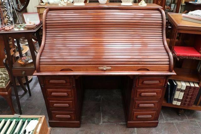 Antique Roll Top Desk