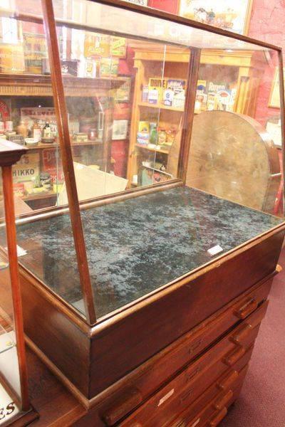 Antique Shop Display Cabinet