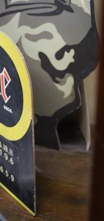 Armadrake Motor Cycle Coats Hard Board Sign