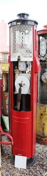 Arriving soon Rare Shell Kerbside Manual Petrol Pump