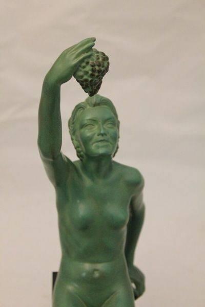 Art Deco Bronze Figure