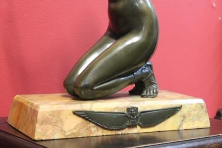 Art Deco Bronze by H Fugere