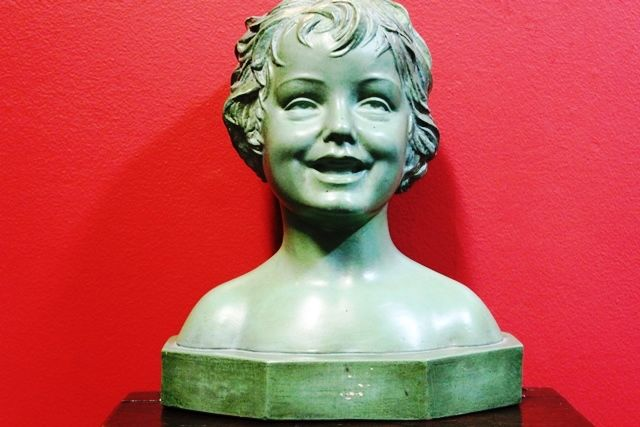 Art Deco Bust of a Child C1920