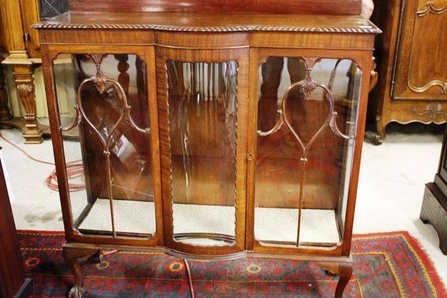 Bow Front 2 Door Cabinet