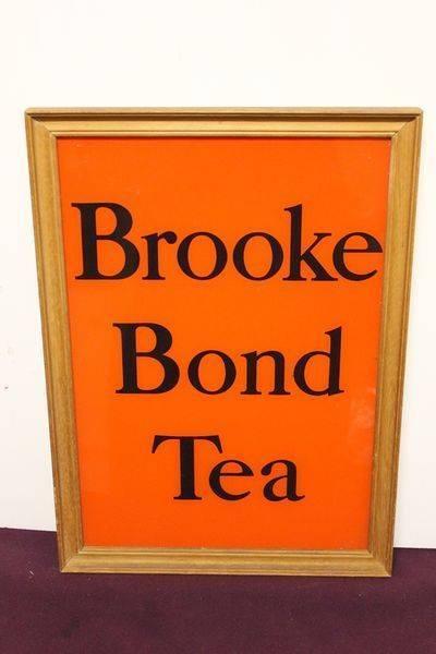 Brooke Bond Framed Sign