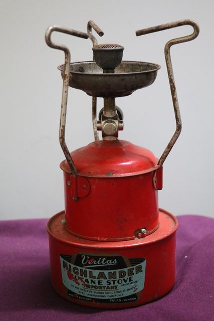 Butane Stove With Original Tin