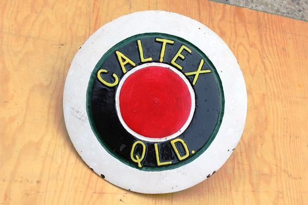 Caltex Cast Iron Tank Cover