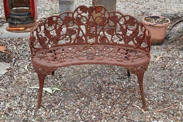 Cast Iron Duchess Seat