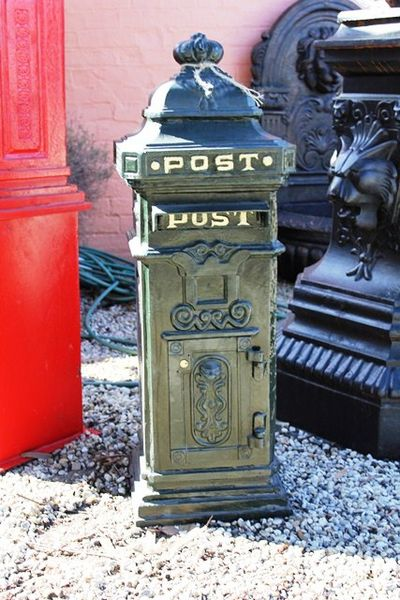 Cast Iron Post Box