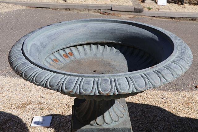 Cast Iron Toulouse Medium Urn and Base
