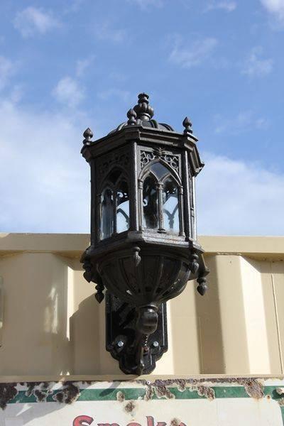 Cast Iron Wallmounted Garden Lights
