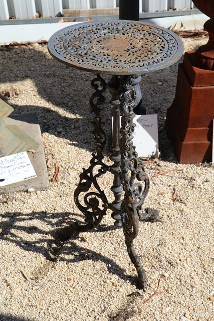 Cast Iron Wine Table Stand