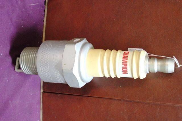 Champion Plastic Advertising Spark Plug
