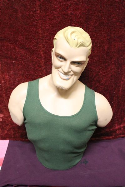 Chesty Bond Plastic Figurine