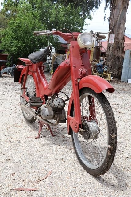 Classic 1957 Norman Nippy Lido 48cc Moped