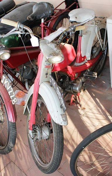 Classic 1967 NSU Quickly 49cc Moped