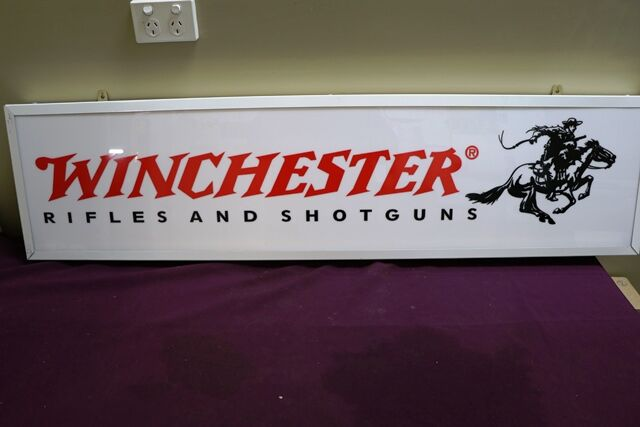 Contemporary Winchester Rifles and Shotguns Light Box