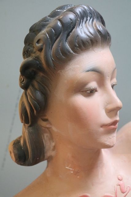 Decorative Shop Display Advertising Figure of A Nude Bust