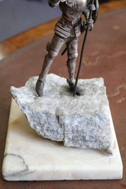 Don Quixote Bronze Figure