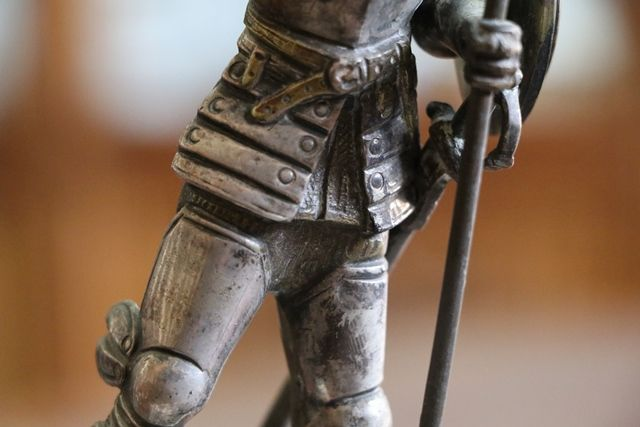 Don Quixote Bronze Figure