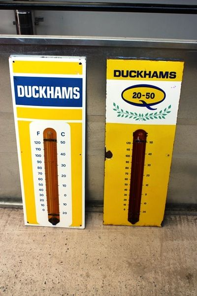 Duckhams 2050 Enamel Thermometer Arriving Nov