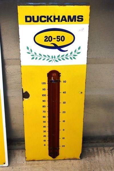 Duckhams 2050 Enamel Thermometer Arriving Nov