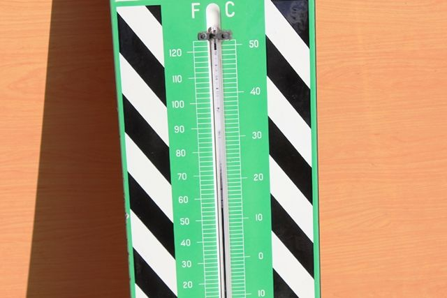 Duckhams Adcoids Advertising Thermometer
