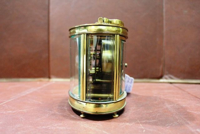 Early 20th Century Dual Carriage ClockBarometer