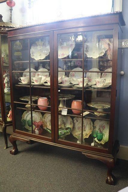 Early 20th Century Mahogany Bookcase   Cabinet C1925