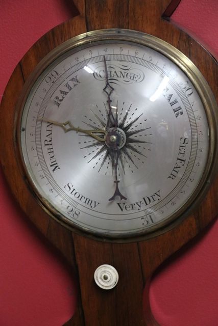 Early C19th Banjo Barometer